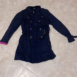 S. Oliver | Navy Blue Trench Coat